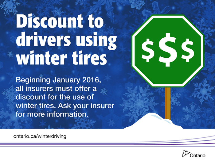 Winter Tire Discount for Ontario Auto Insurance