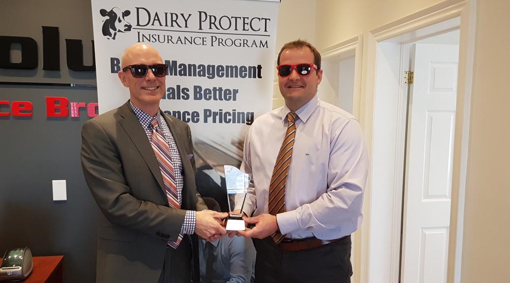 Absolute Insurance Winning an Award for Outstanding Farm Insurance