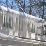 Icicles Hanging From Your Roof – Sign of Damage?